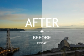 After-and-Before Friday Post Header