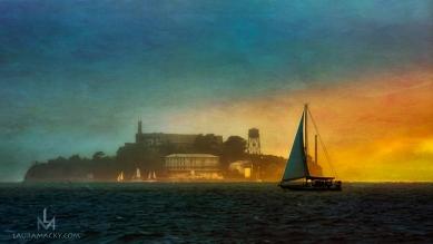 Sailboat (After), by Laura Macky, Laura Macky