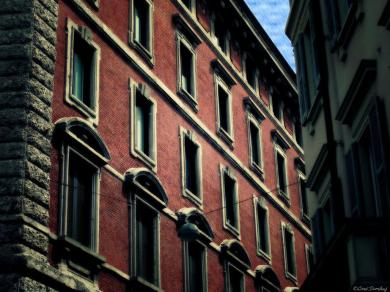 Milan (After), by Loré Dombaj, Snow's Fissures and Fractures