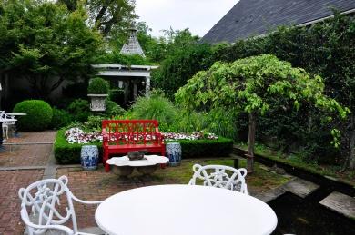 Before, Inn at Little Washington Garden