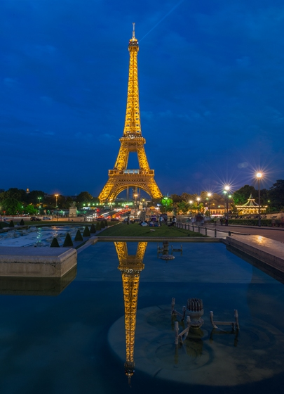 Eiffel Tower (After), by Robin Kent, PhotographybyKent
