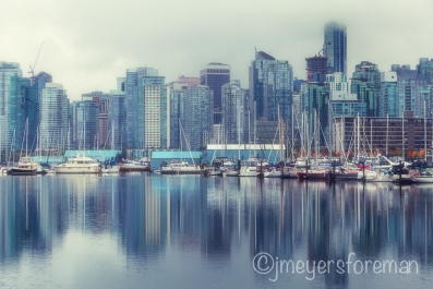 Vancouver Coal Harbour (After), Janice Meyers Foreman, jmeyersforeman photography