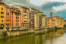 Arno Riverfront, Florence, Italy