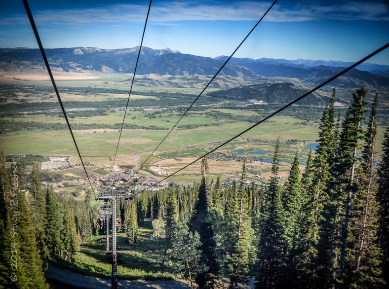 Bridger Gondola, Teton Village, Wyoming