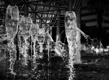 Melbourne Water Fountain (After), Leanne Cole, Leanne Cole Photography