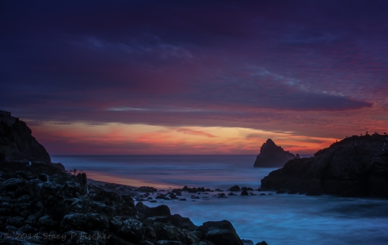 Sunset at Seal Rocks, Lands End, San Francisco