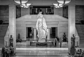 Statue of Freedom, Emancipation Hall, U.S. Capitol Visitor Center