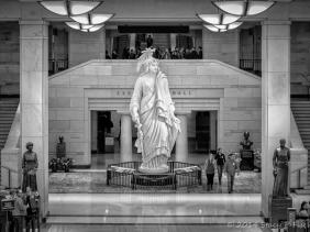 Statue of Freedom, Emancipation Hall, U.S. Capitol Visitor Center