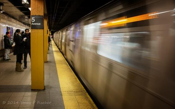 Subway 5th Avenue NYC