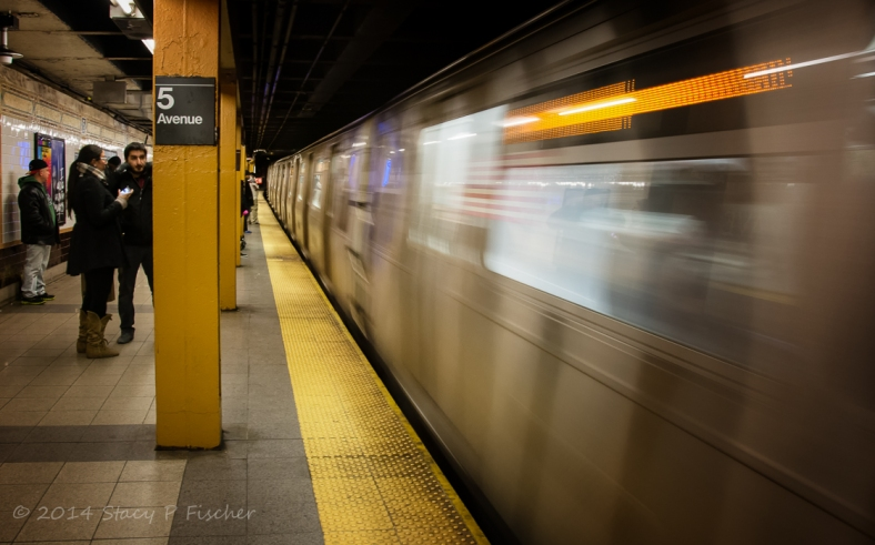 Subway 5th Avenue New York City