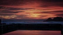 Sutro Baths sunset