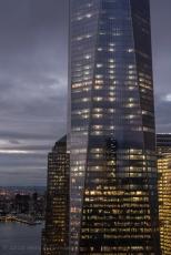 One World Trade Center, dusk