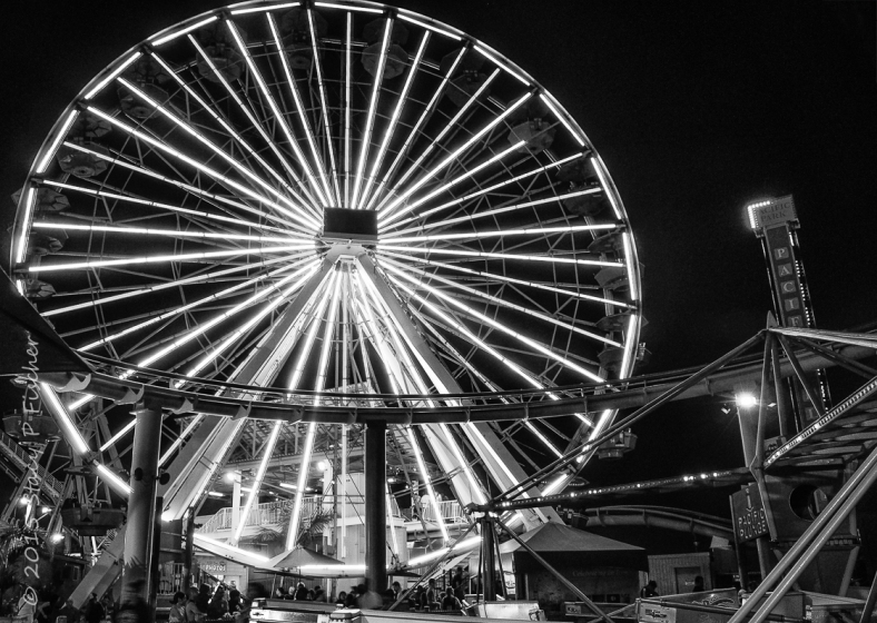 Santa Monica Ferris Wheel, Pacific Park