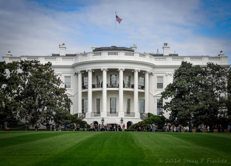 Executive Residence, South Face, White House