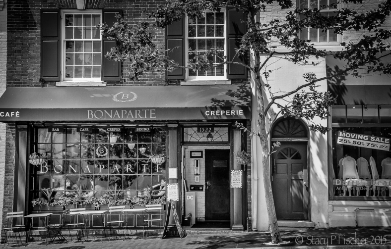 Cafe Bonaparte, Georgetown, Washington, DC, Street View