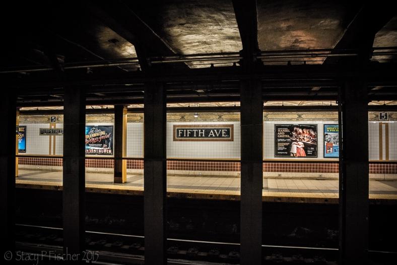 NYC 5th Avenue Subway Station