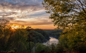 Sunset over the Potomac River, McLean, Virginia