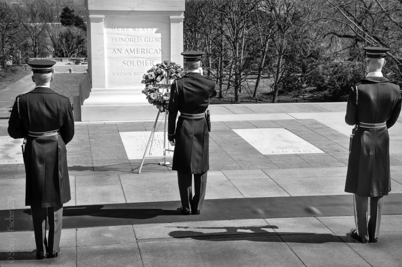 Honor Guard, Tomb of the Unknown Soldier, Arlington National Cemetery