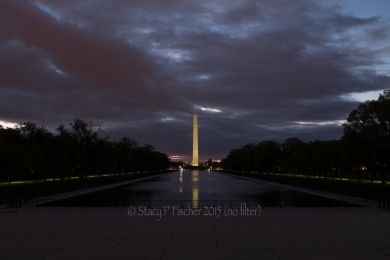 Washington Monument, dawn (-1ev bracketed shot in series)