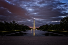 Washington Monument, dawn