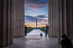 Washington Monument Sunrise 2