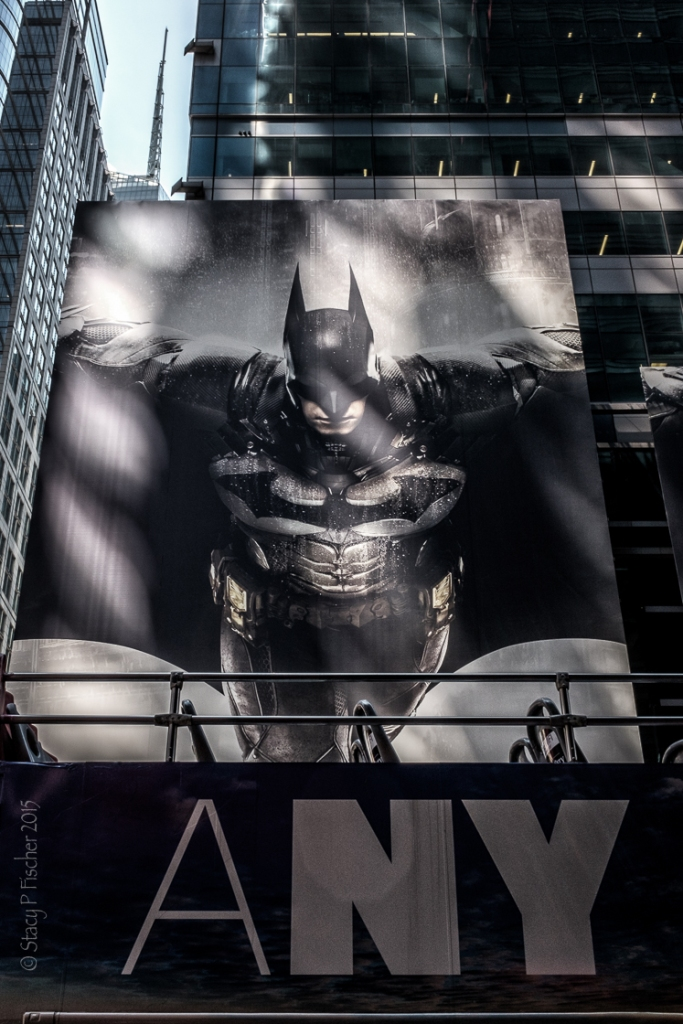 Batman Arkham Knight billboard, New York City