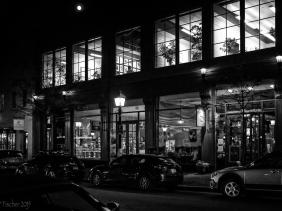 King Street, Night, Old Town Alexandria, Virginia