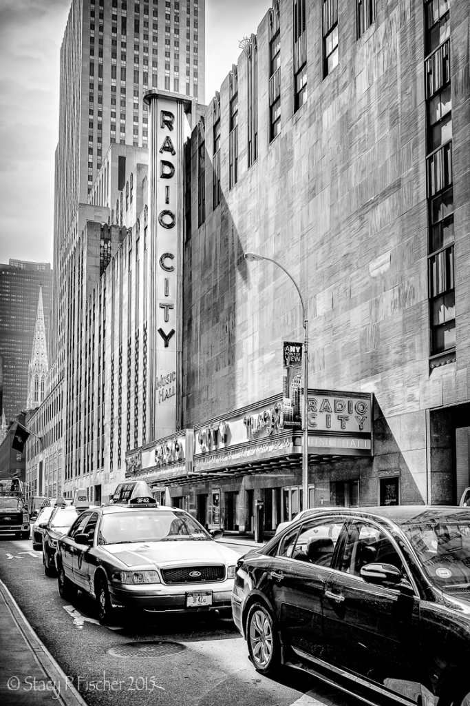 Radio City Music Hall, New York City, 51st Street Entrance