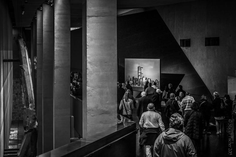 The ramp, 9/11 Memorial Museum