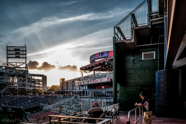 Sunset from Nationals Park, Washington, DC
