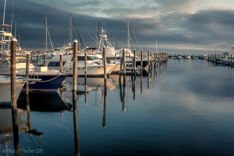 Sunset at Seaview Harbor Marina, New Jersey