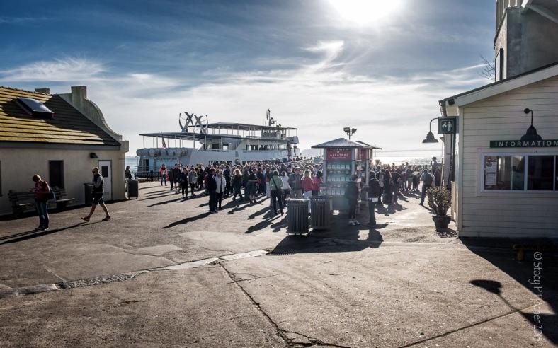 Alcatraz Island Dock
