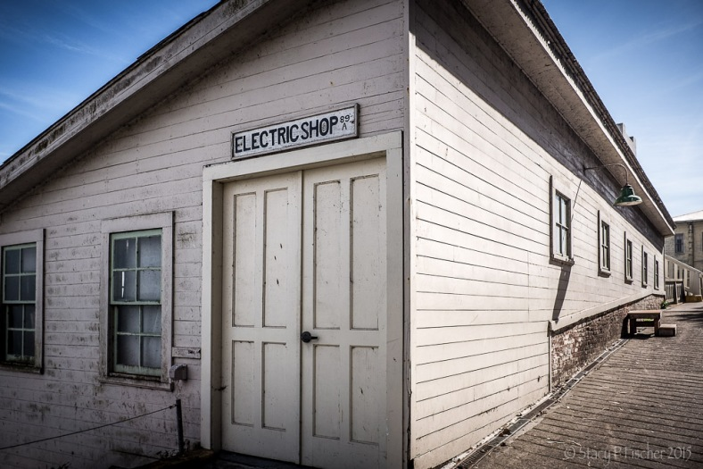 Alcatraz Island Electric Shop Exterior