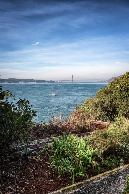 Alcatraz Island Golden Gate Bridge