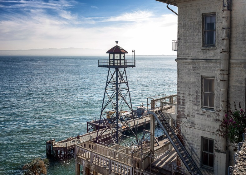 Alcatraz Island Guard Tower #6