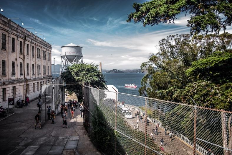Alcatraz Island Main Road