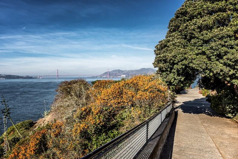 Alcatraz Island West Road