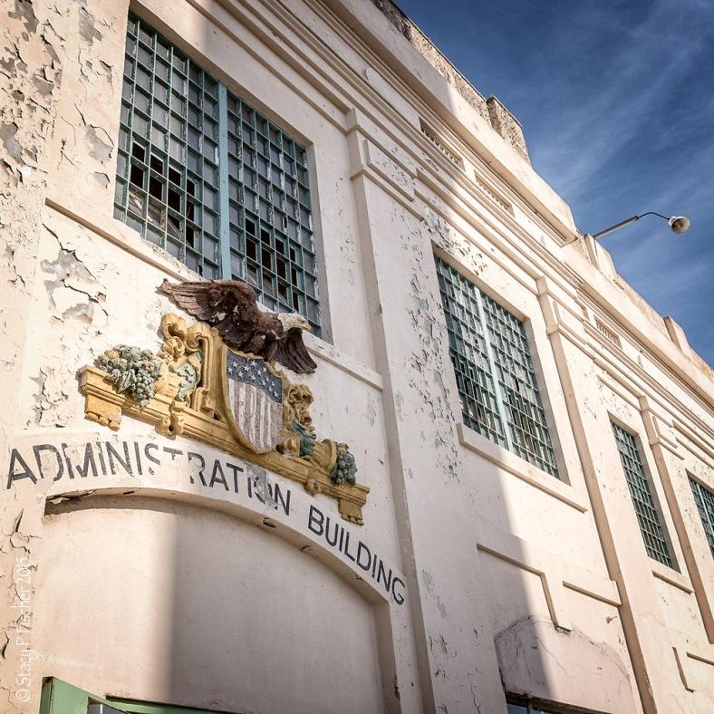 Alcatraz Island Administration Building