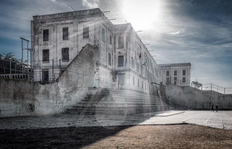 Alcatraz Prison Recreation Yard