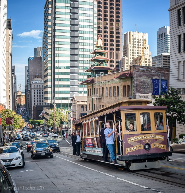 San Francisco Cable Car California Line