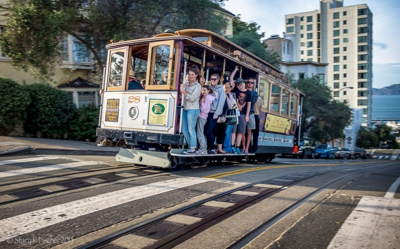 San Francisco Cable Car Powell-Hyde Line