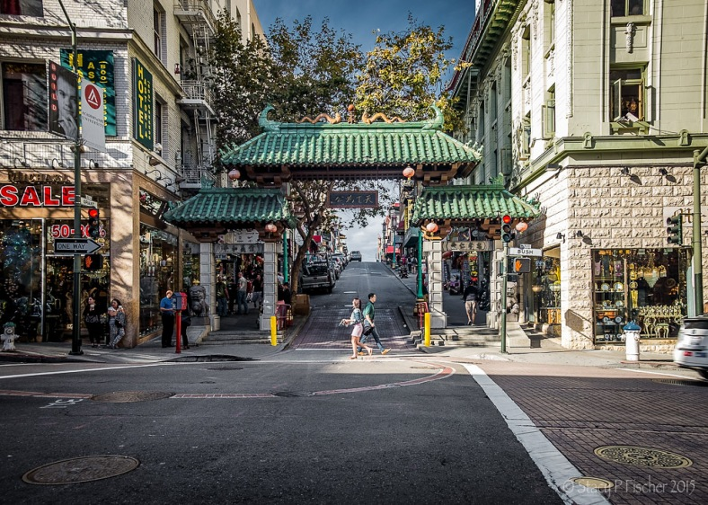 Dragon's Gate Chinatown San Francisco