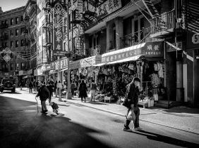 Mott Street, Chinatown, New York City