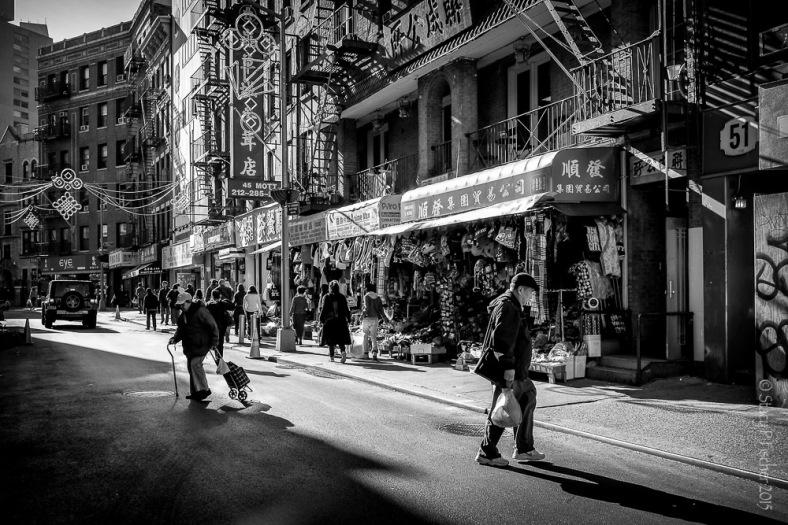 Mott Street, Chinatown, New York City