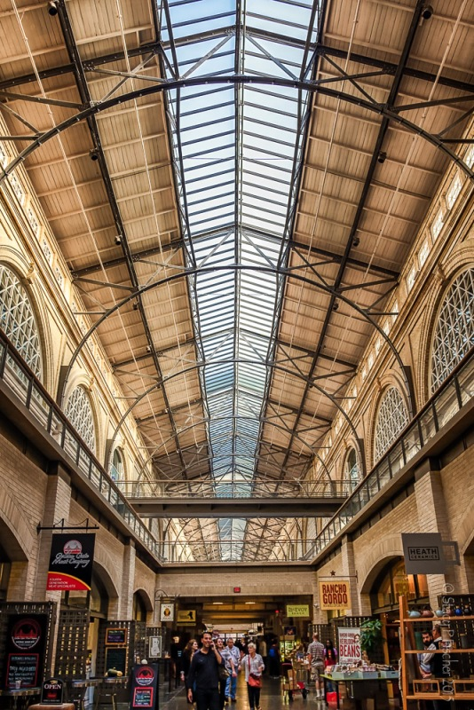 Ferry Building, San Francisco, interior