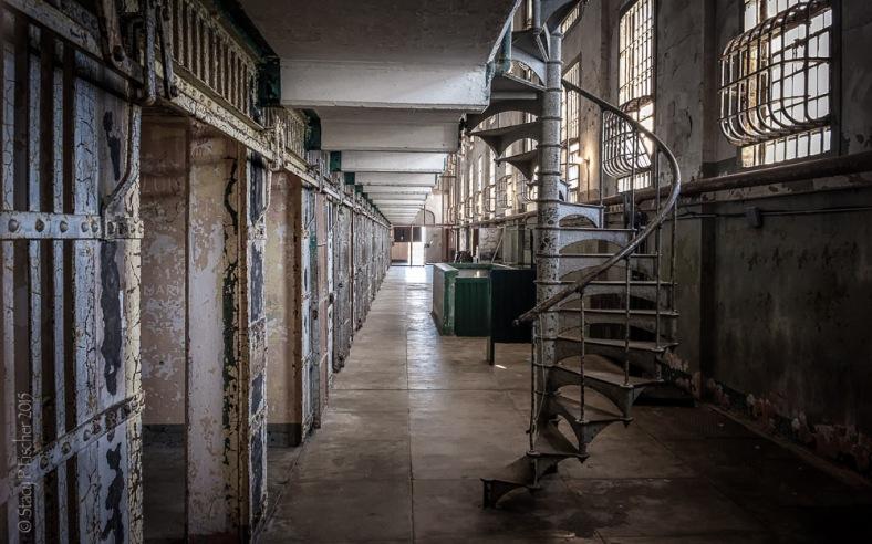 Alcatraz A Block Sunrise Alley 1