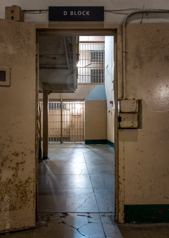 Alcatraz D Block Entrance