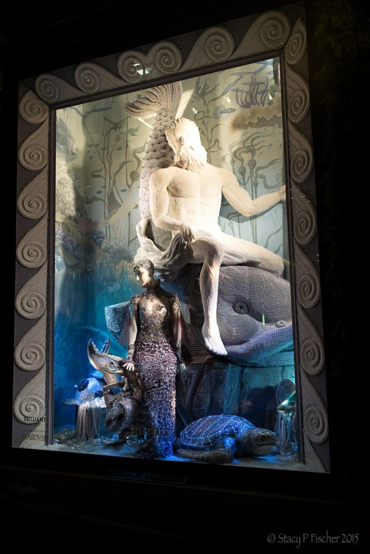 "Bergdorf Goodman 2015 Christmas Window ""Treasured"""