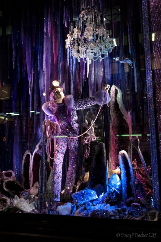 "Bergdorf Goodman 2015 Christmas Window ""Hidden Gem"""