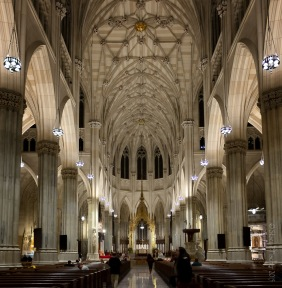 Interior, St. Patrick's Cathedral, New York City